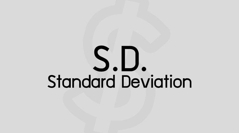 ค่า SD คือ ส่วนเบี่ยงเบนมาตรฐาน คือ ค่าเบี่ยงเบนมาตรฐาน Standard Deviation คือ วิธี หาค่า SD