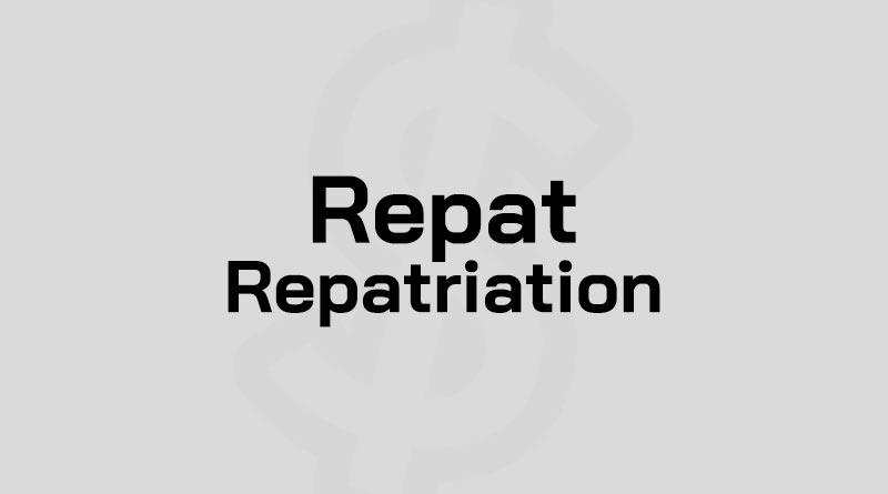 Repatriation คือ Repat คือ ทรัพยากรมนุษย์ Repatriate