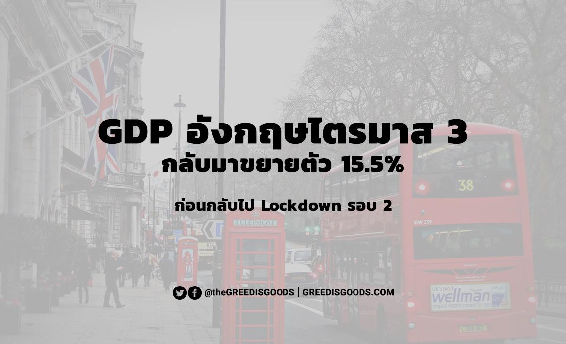 GDP อังกฤษ ไตรมาส 2 2020 2563